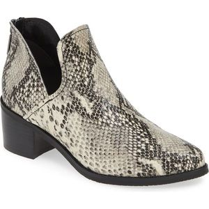 Blondo Waterproof Snake print Bootie